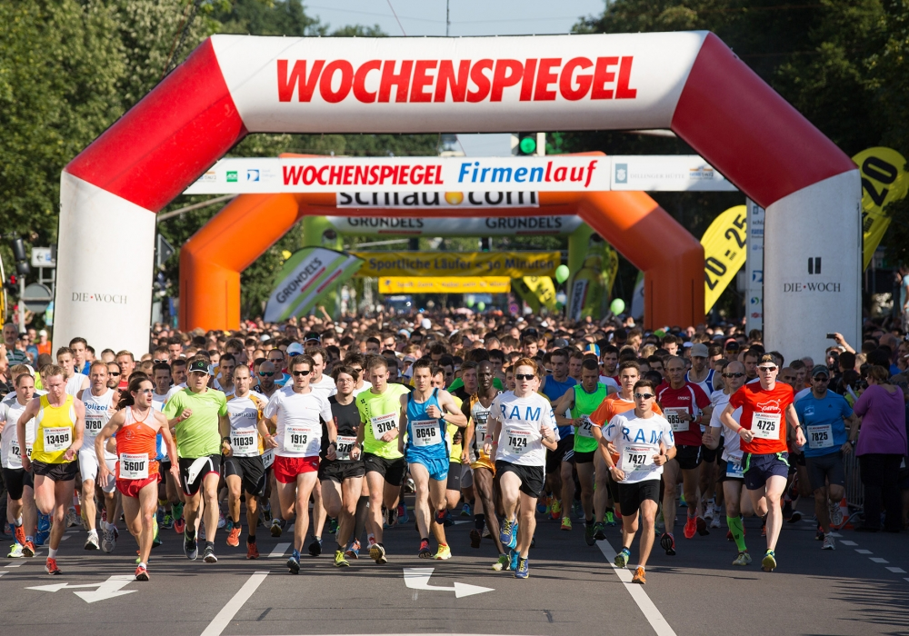 WOCHENSPIEGEL Firmenlauf Saarland