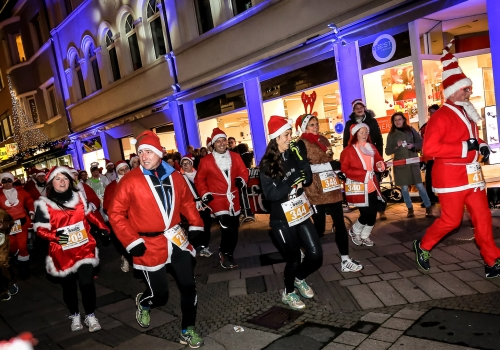schlau.com Santa Lauf